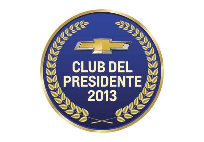 Chevrolet - Logo Club del Presidente 2013