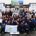 El equipo de VW Motorsport celebra su triunfo