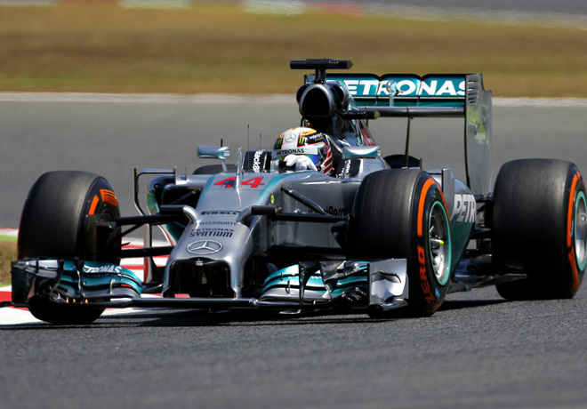 F1 - Barcelona 2014 - Lewis Hamilton - Mercedes GP