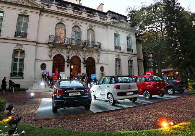 Fiat Auto Argentina en el Six Oclock Tea en la Embajada de Italia 2