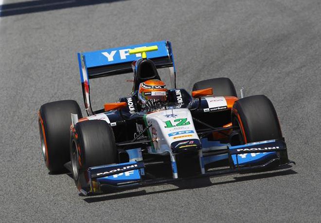 GP2 - Barcelona 2014 - Carrera 2 - Facu Regalia - Hilmer Motorsport