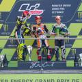 MotoGP - Le Mans 2014 - Rossi - Marquez - Bautista en el Podio