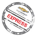 Plan Chevrolet Express tu Classic en 2 cuotas