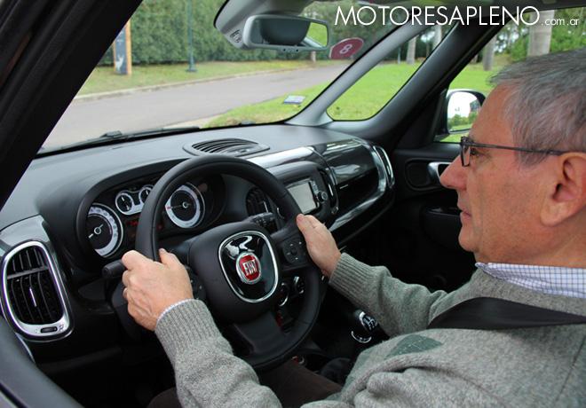 Primer contacto con el Nuevo Fiat 500L 2