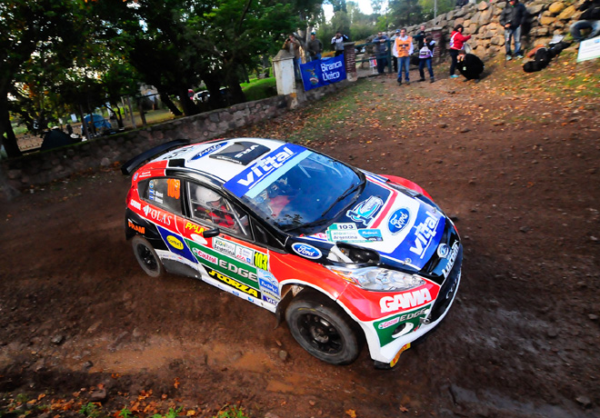 Rally Argentino - Cordoba 2014 - Claudio Menzi - Ford Fiesta MR