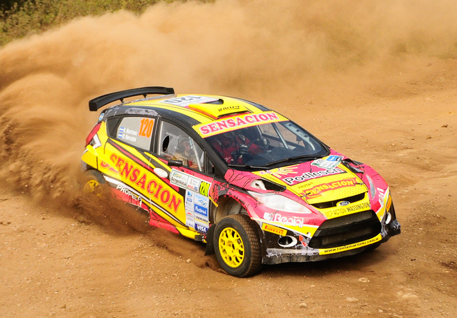 Rally Argentino - Cordoba 2014 - Raul Martinez - Ford Fiesta MR