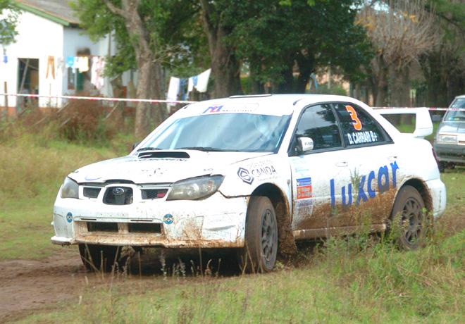 Rally Federal - Rojas - Daniel Carrari - Subaru Impreza