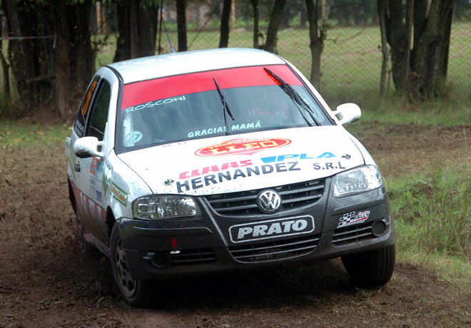 Rally Federal - Rojas - Sergio Rosconi - VW Gol
