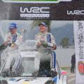 WRC - Argentina 2014 - Final - Jari-Matti Latvala en el Podio