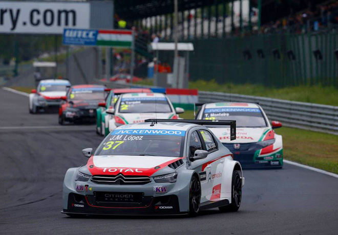 WTCC - Hungaroring - Jose Maria Lopez - Citroen C-Elysee