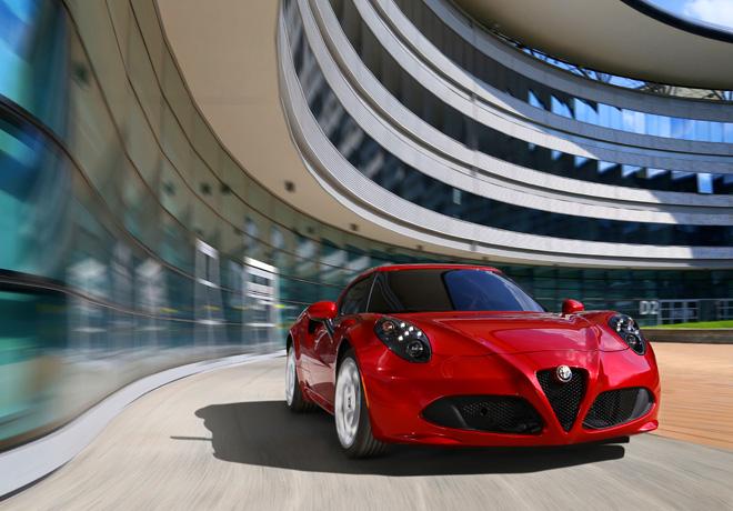Alfa Romeo 4C (2012)