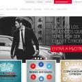 Citroen renueva su sitio web