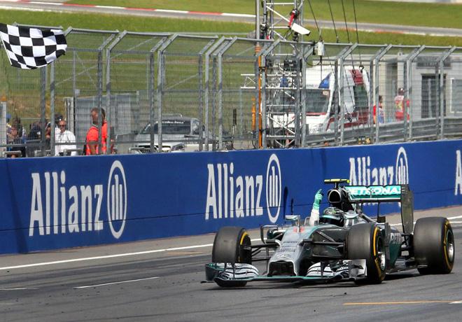 F1 - Austria 2014 - Nico Rosberg - Mercedes GP