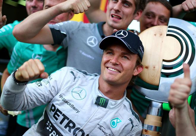 F1 - Austria 2014 - Nico Rosberg en el Podio