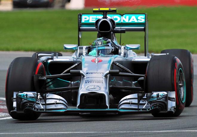 F1 - Canada 2014 - Nico Rosberg - Mercedes GP