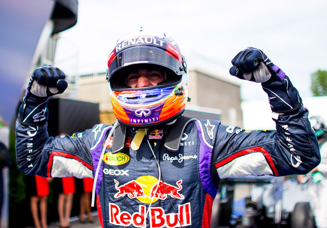 F1 - Canada 2014 - Primera victoria de Daniel Ricciardo - Red Bull