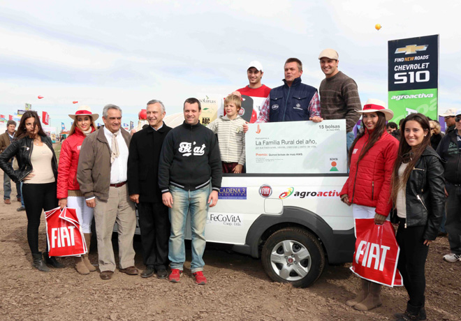 Fiat premio a la Familia Rural en AgroActiva 2014 3