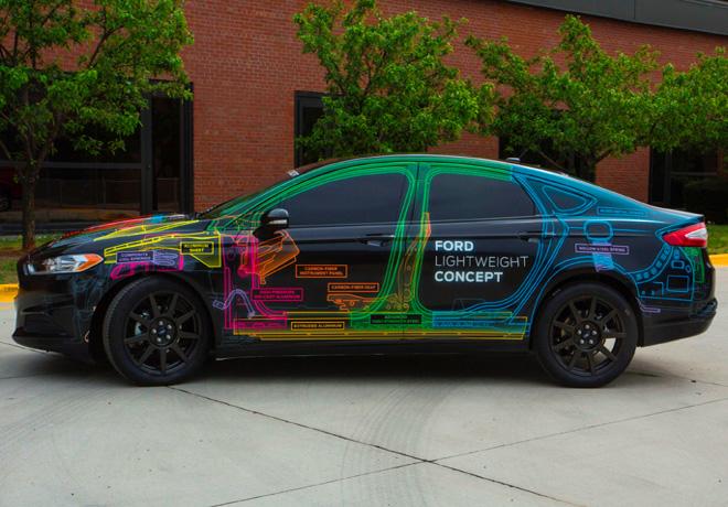 Ford investiga reducir el peso de sus vehiculos con materiales sustentables 1
