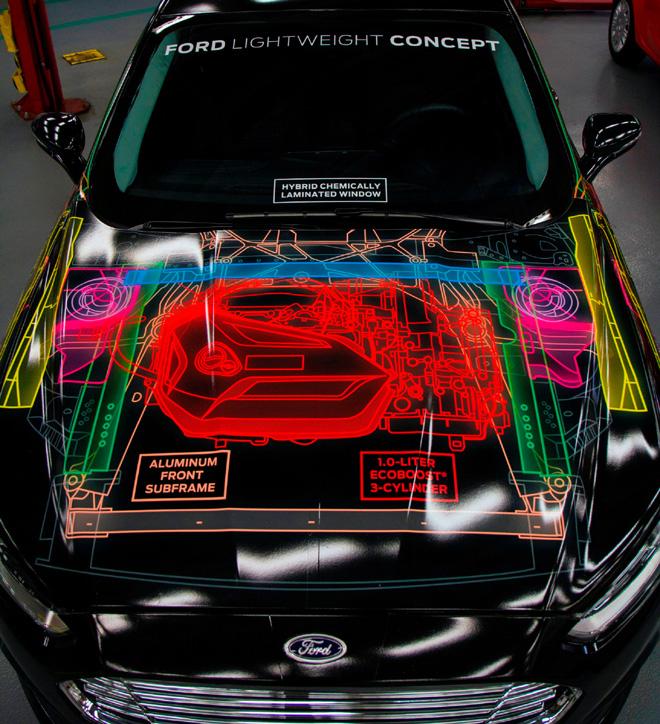 Ford investiga reducir el peso de sus vehiculos con materiales sustentables 2