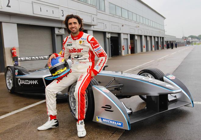 Formula E - Juan Manuel Lopez 1