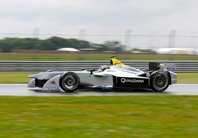 Formula E - Juan Manuel Lopez 2