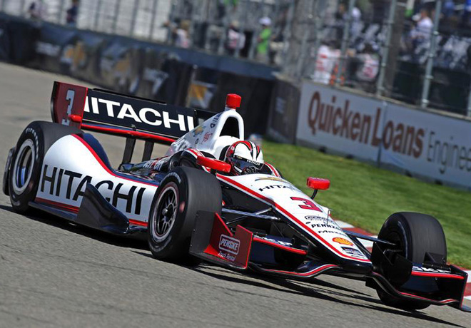 IndyCar - Detroit - Carrera 2 - Helio Castroneves