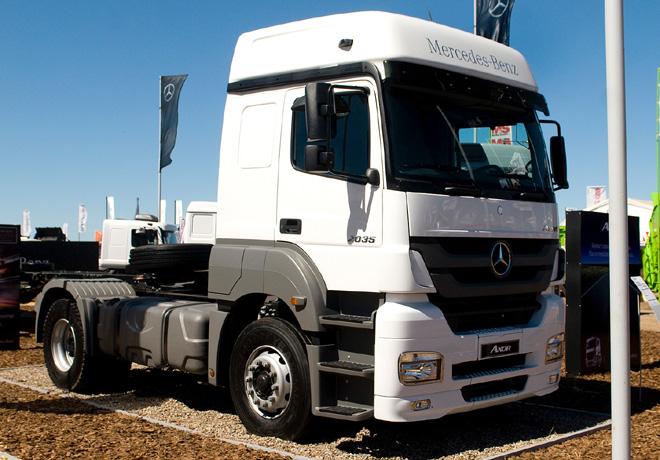Mercedes-Benz Axor Eco en Agroactiva 2014