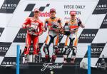 MotoGP - Assen - Dovizioso - Marquez - Pedrosa en el Podio