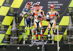 MotoGP - Catalunya - Rossi - Marquez - Pedrosa en el Podio