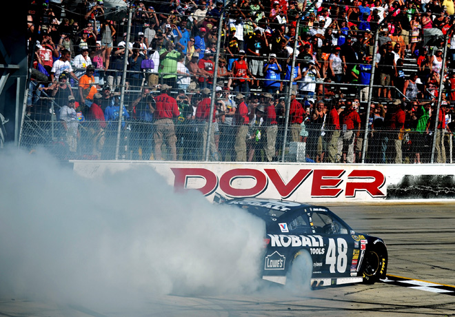 NASCAR - Dover - Jimmie Johnson - Chevrolet SS
