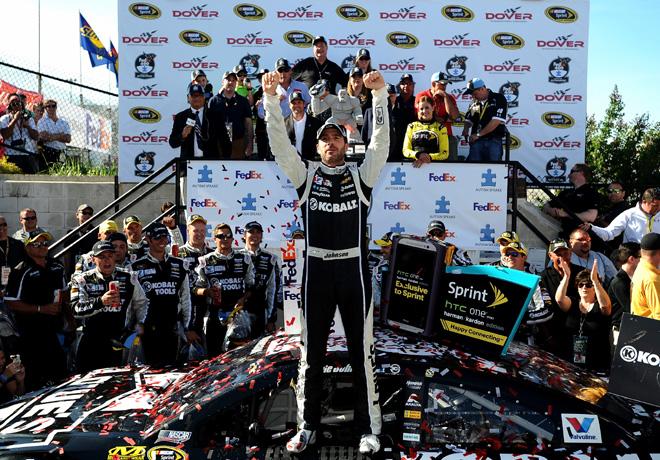 NASCAR - Dover - Jimmie Johnson en el Victory Lane