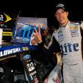 NASCAR - Kentucky - Brad Keselowski en el Victory Lane