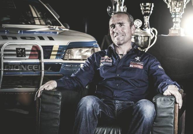 Peugeot - Dakar 2015 - Stephane Peterhansel