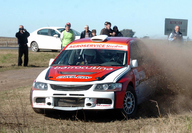 Rally Federal - Huges -  Federico Devoto - Mitsubishi Lancer EVO