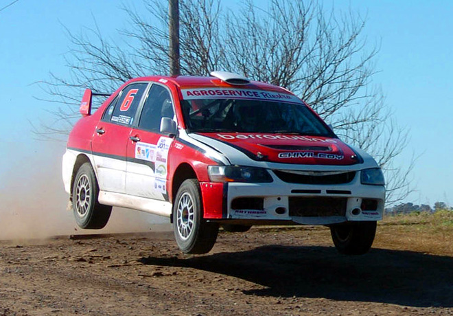 Rally Federal - Hughes -  Final - Federico Devoto - Mitsubishi Lancer EVO