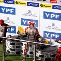 TC - Termas de Rio Hondo - Matias Rossi - Facundo Ardusso - Christian Ledesma en el Podio