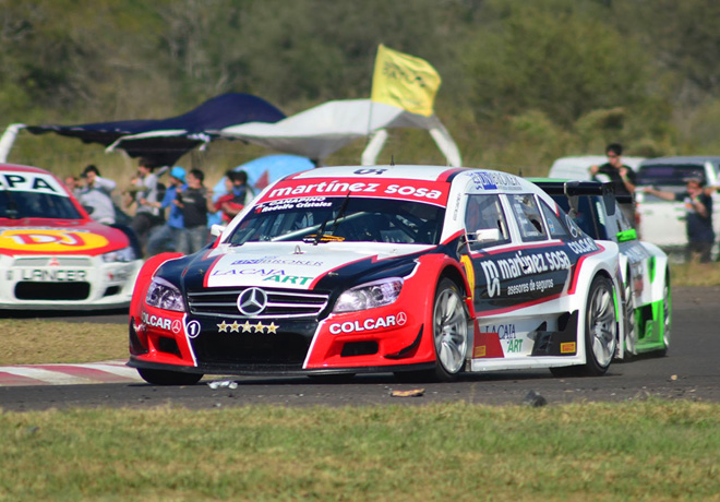 Top Race - Chaco 2014 - Agustin Canapino - Mercedes-Benz