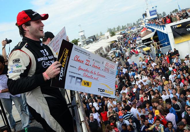 Top Race - Chaco 2014 - Agustin Canapino en el Podio