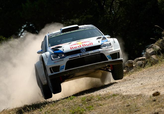 WRC - Italia 2014 - Final - Sebastien Ogier - VW Polo R