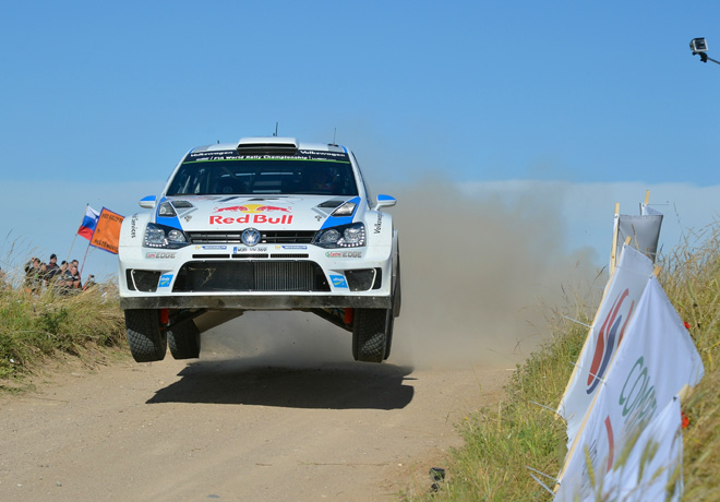 WRC - Polonia 2014 - Dia 1 - Sebastien Ogier - VW Polo R