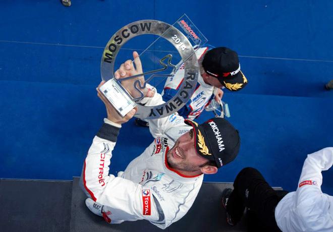 WTCC - Moscu - El Podio de la carrera 1