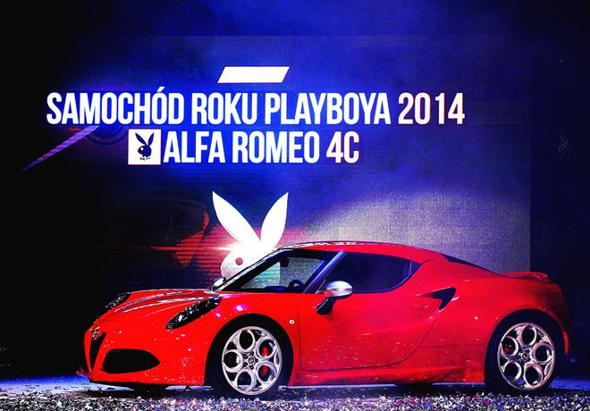 Alfa Romeo 4C - Auto Playboy 2014