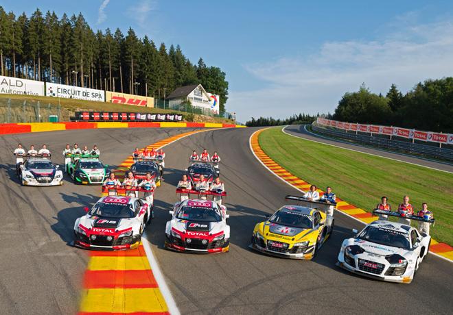 Audi - Tercera victoria de la marca en las 24hs de Spa 1