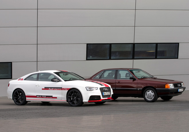 Audi celebra los 25 Años del motor TDI 1