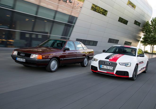 Audi celebra los 25 Años del motor TDI 2