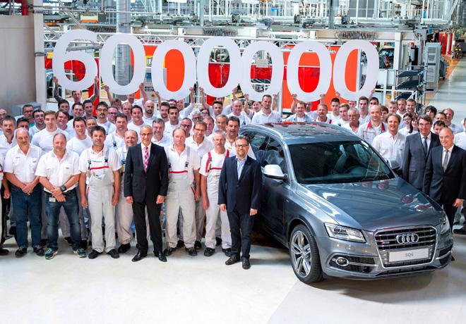 Audi festeja la produccion de 6 millones de autos con traccion quattro 1