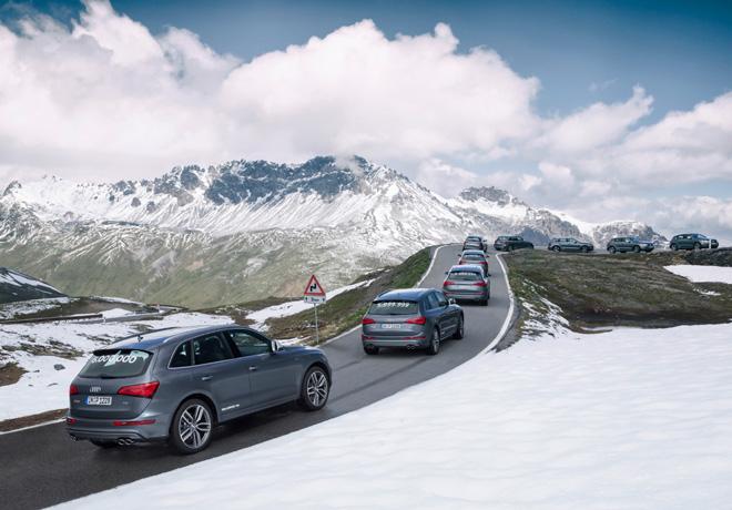 Audi festeja la produccion de 6 millones de autos con traccion quattro 2