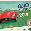 Autoclasica 2014 - Afiche Horizontal