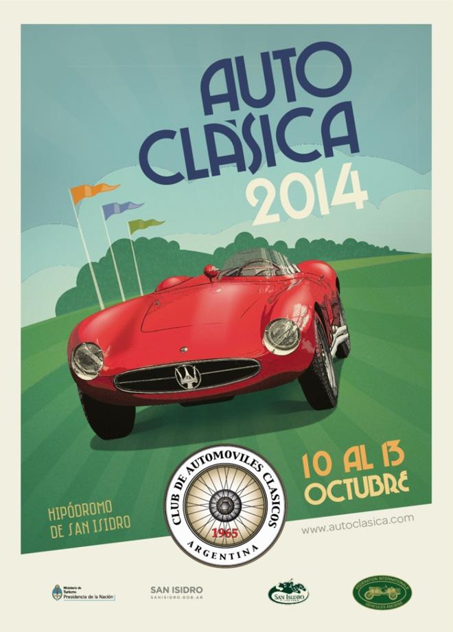 Autoclasica 2014 - Afiche Vertical