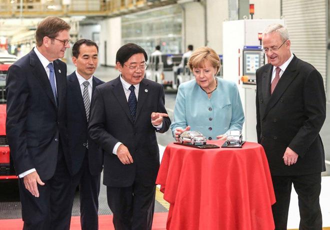 El Grupo Volkswagen construira dos nuevas plantas en China 1